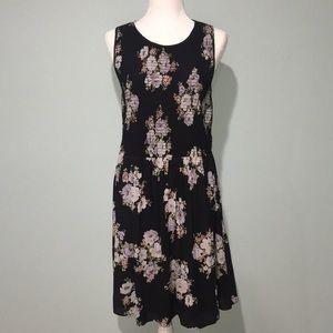 LOFT rouched dress